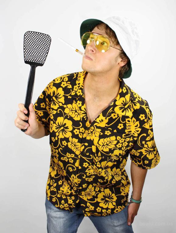 Страх и ненависть в Лас-Вегасе: комплект рубашка, панама, очки, мундштук
