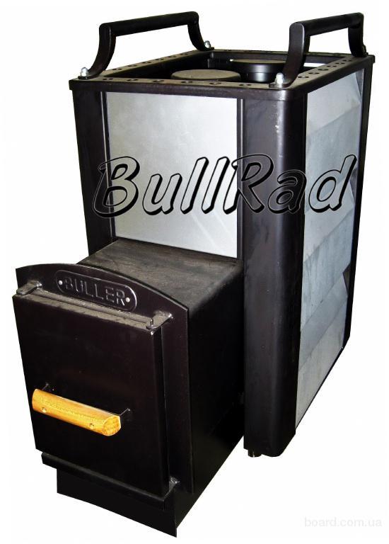 Печь каменка Buller-02 для бани и сауны с выносом топки