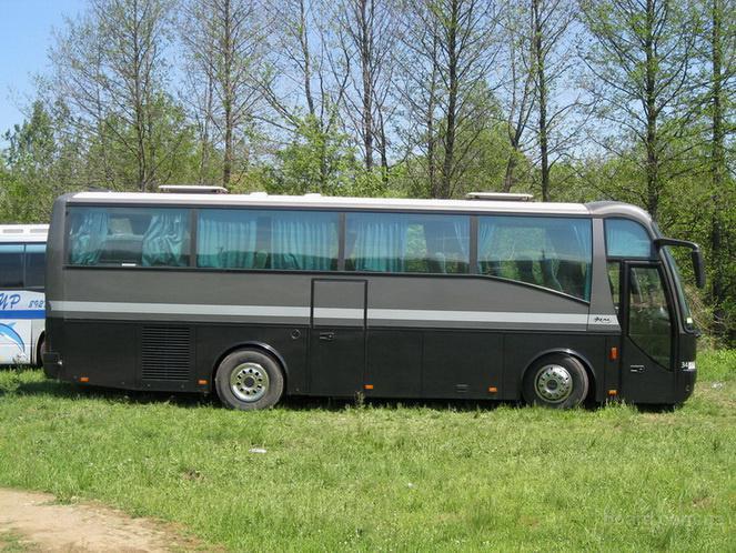 30-местный автобус. Водители с визами.