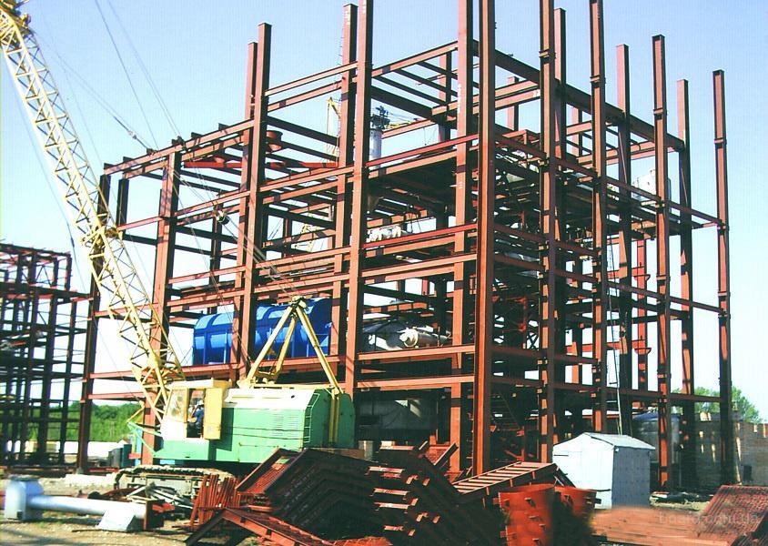 Изготовление и монтаж металлоконструкций в Украине.