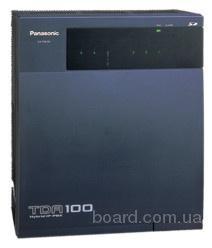 мини-АТС Panasonic kx-tda100 базовый блок б.у. При условии нашей установки, гарантия 1 год