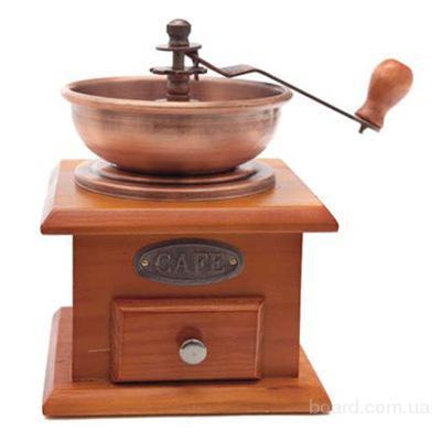 Кофемолка деревянная