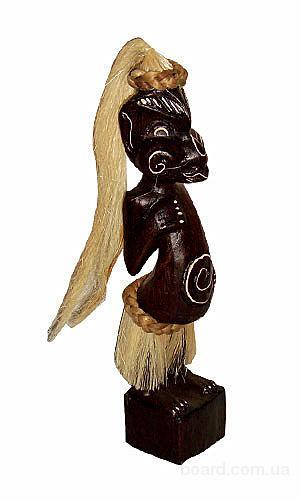 Статуэтка деревянная Маори