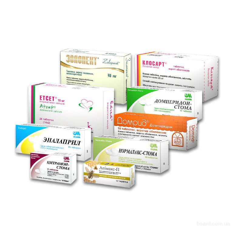 Упаковка из картона для таблеток, гранул и капсул