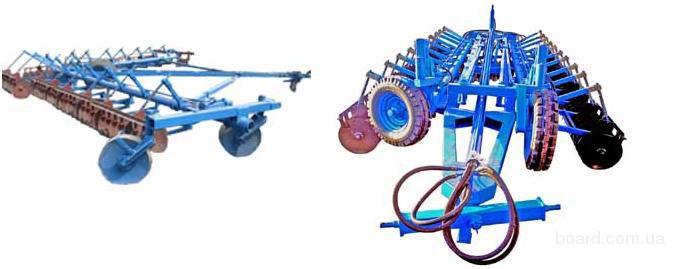 Продам лущильники дисковые (диски на сплошных валах) ЛДГ-5.,ЛДГ-10М, Л.