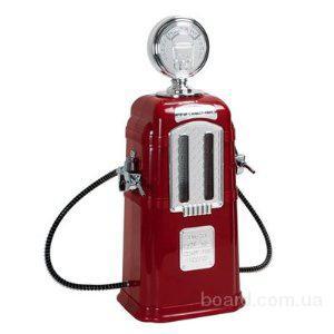 Диспенсер для напитков Бензоколонка на 2 шланга красный