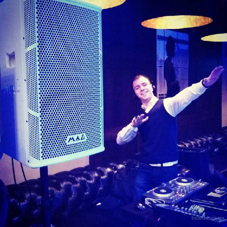 Диджей на свадьбу, діджей на весілля, DJ, звук, свет на корпоратив, на свадьбу, аренда звука в Киеве