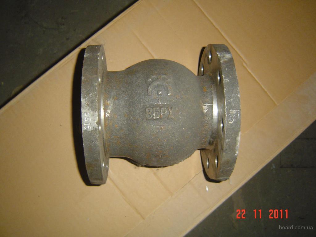 19нж63бк клапан обратный ду 100