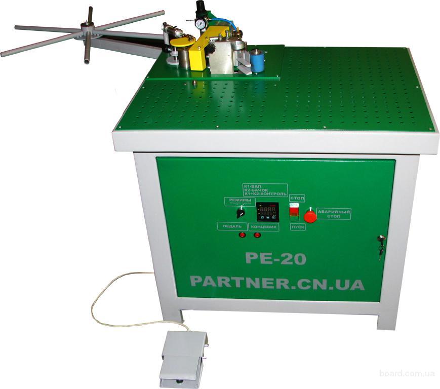 Полуавтоматический кромкооблицовочный станок РЕ-20