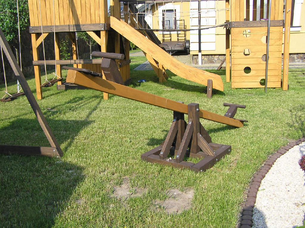 Качели балансир своими руками из дерева для детей