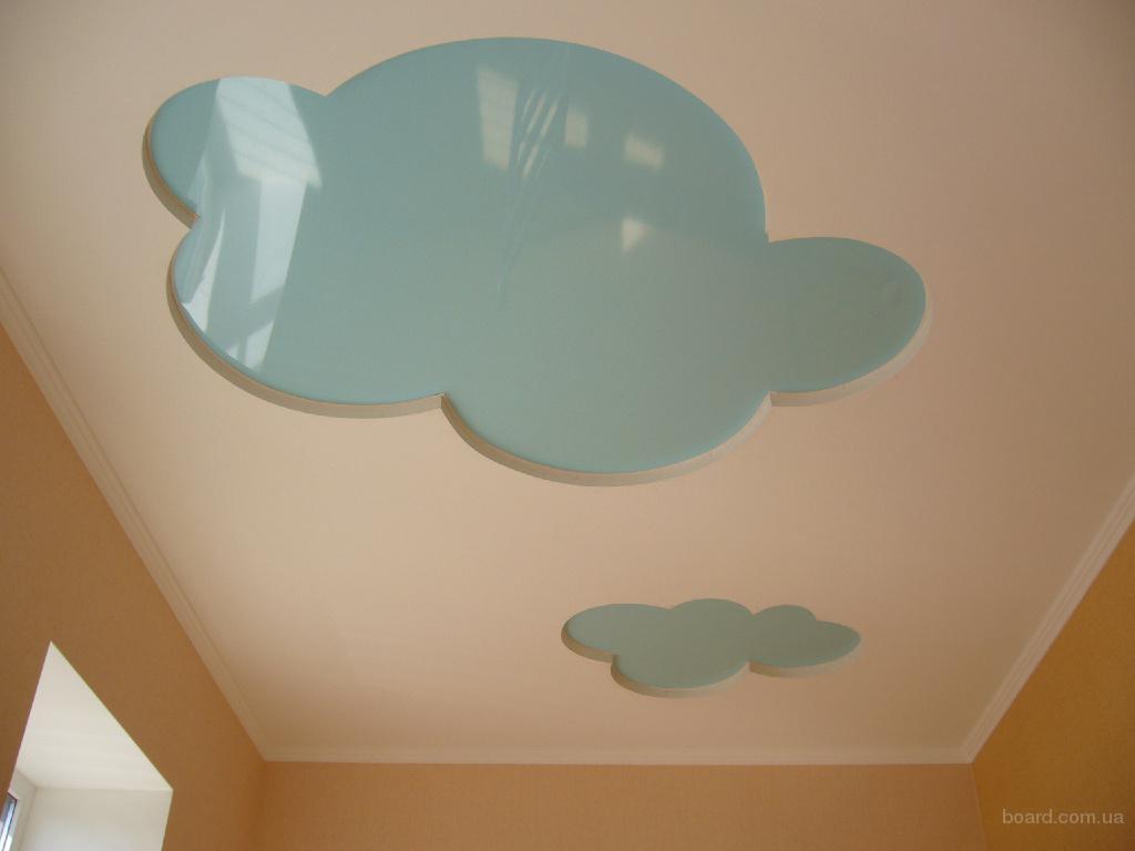 ...тематично оформить детскую комнату вашего ребенка, и поэтому подыскиваете красивые и оригинальные натяжные потолки.