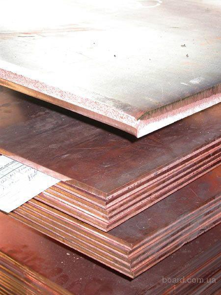 Медь листовая t 0.4-50 мм марка М1 М2 М2 Цена дог
