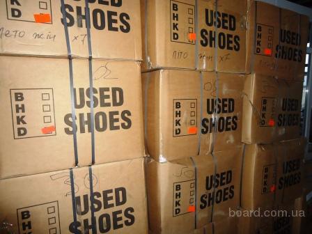 Обувь секонд хенд. 1-ый сорт, экстра, крем, новая. Спорт. Классика. Не дорого. Цены от 4 е/кг.