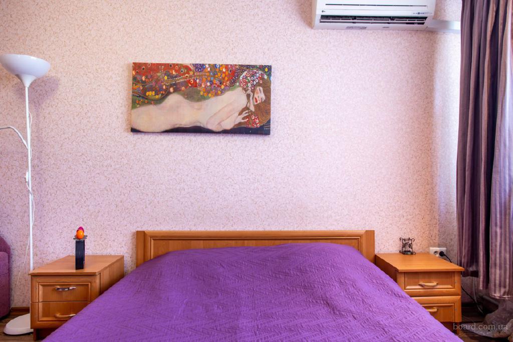 Посуточная аренда,Николаев,2 к студио с изолированной спальней,до 7 человек,документы