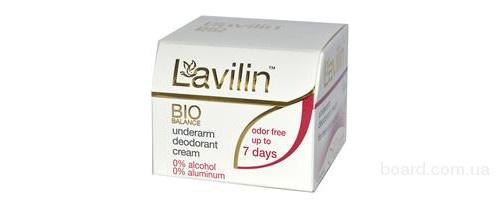Дезодорант Lavilin (Лавилин) – 7 дней без запаха пота!