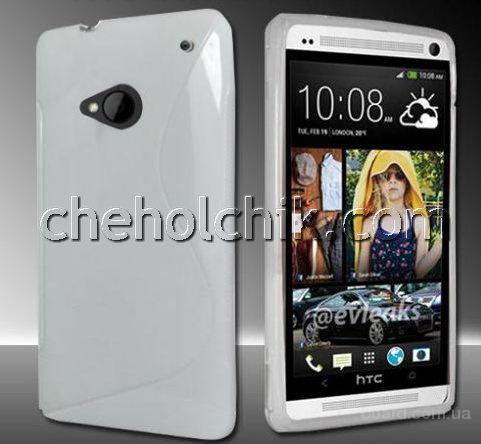 Белый чехол для HTC One E810 ( 120 грн. )