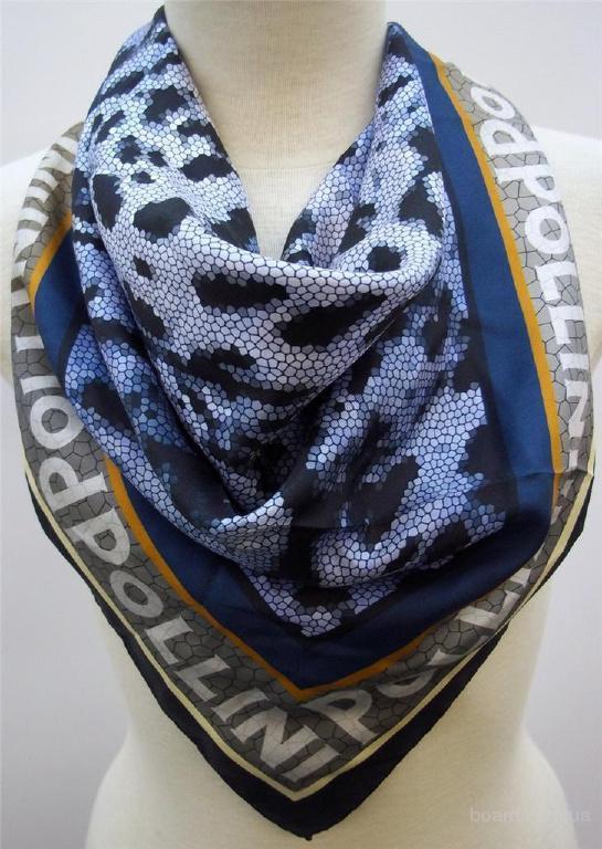 Платки Pollini Women's 100% Silk ,оригинал