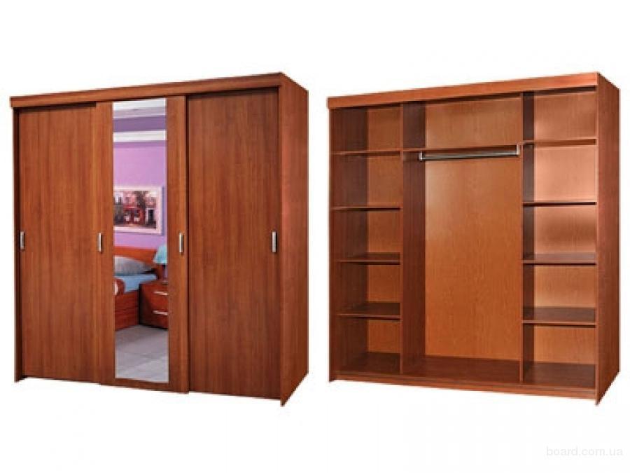 Шкафы-купе от производителя на заказ! шкафы всех видов и раз.