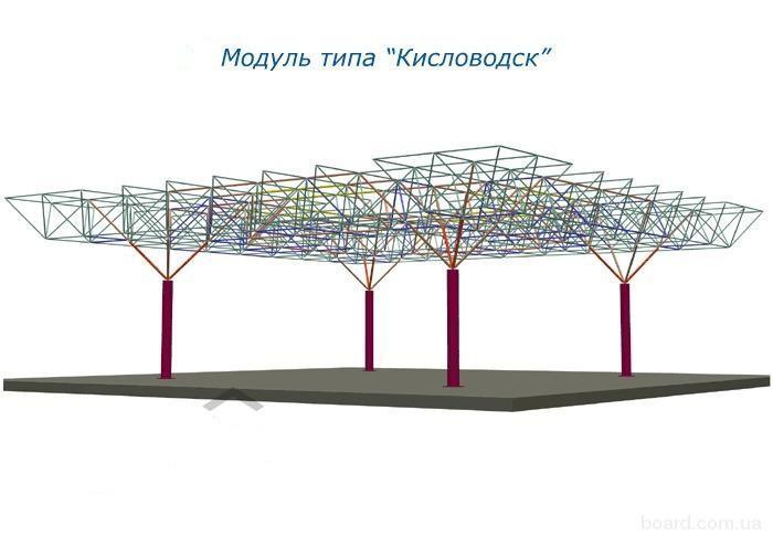 Ангары, модуль Кисловодск
