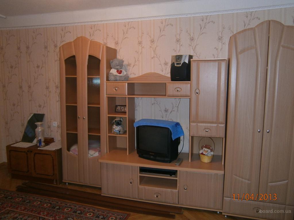 Сдам однокомнатную квартиру. Борщаговка, Святошинский р-н,  ул.Зодчих 26 (м.Житомирская, скоростной трамвай, р-к «Днипро»).
