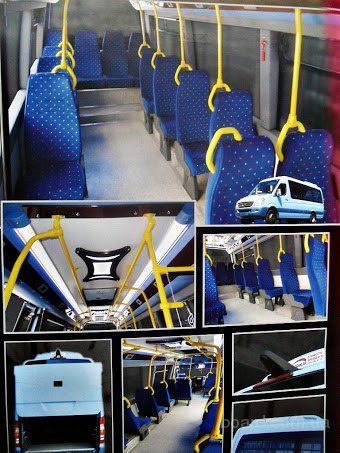 Переоборудование фургона в микроавтобус