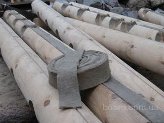 Межвенцовый утеплитель   ленточная  пакля Киев Донецк Ужгород Изюм