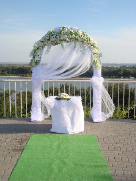 арка на свадебную церимонию, украшение свадьбы, прокат декора на свадьбу
