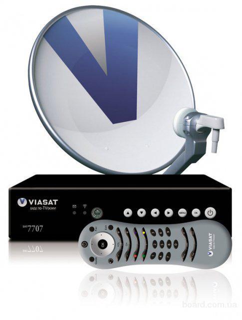 Цифровое спутниковое телевидение viasat