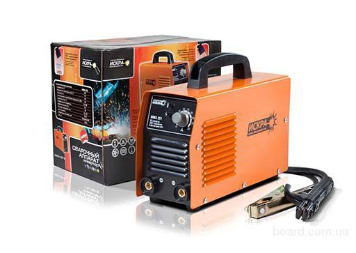 Сварочный инвертор ИСКРА ММА-251 напряжение, В 220/230 частота, Гц 50/60 номинальная потребляемая мощность, кВт...