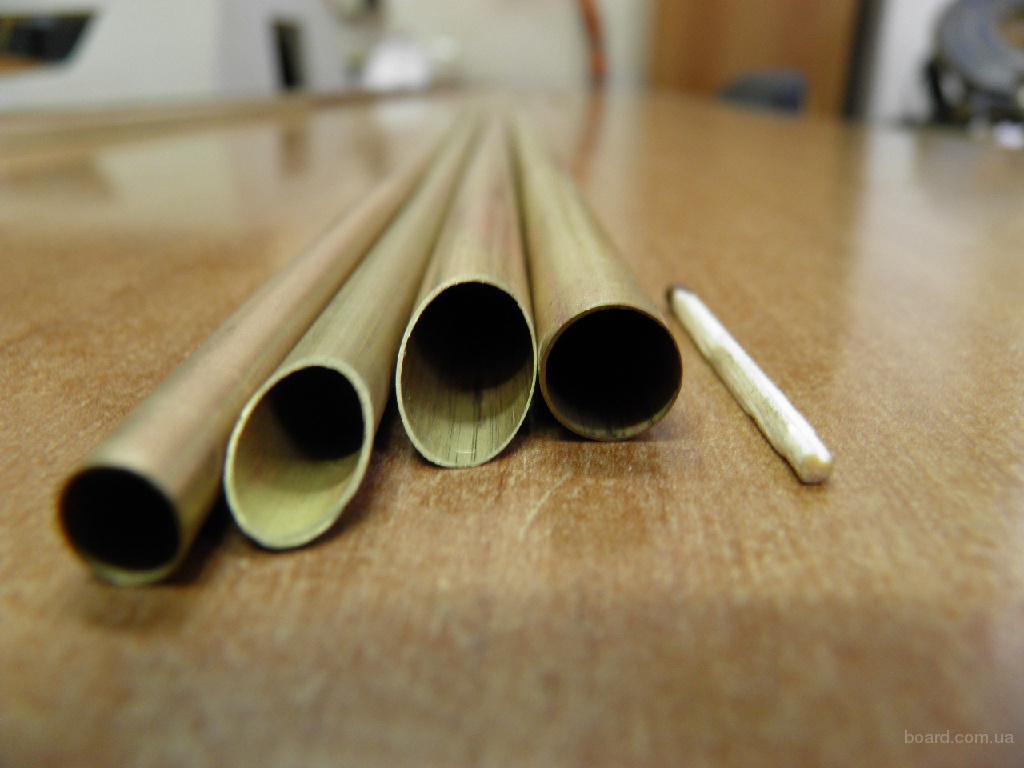 Трубы латунные INDRI