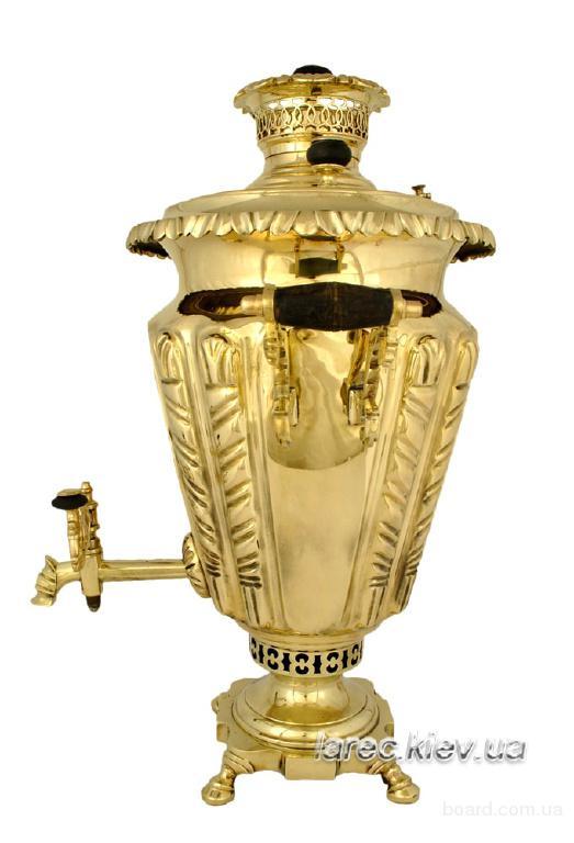 коллекционный угольный самовар чаша, магазин жаровых самовар в Киеве, доставка по всей Украине