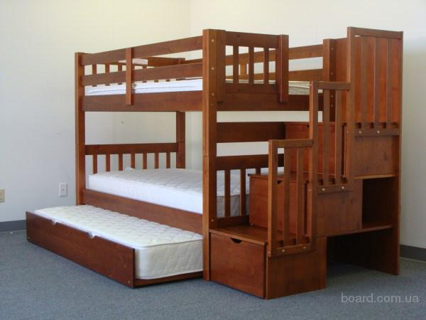 Детская двухъярксная кровать  Саванна Люкс