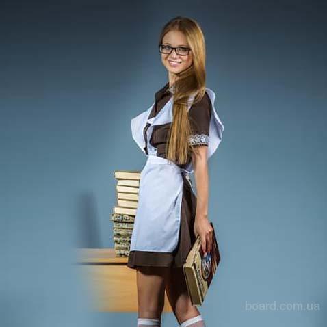 Школьная форма для выпускниц, школьная форма СССР женская, доставка по Украине