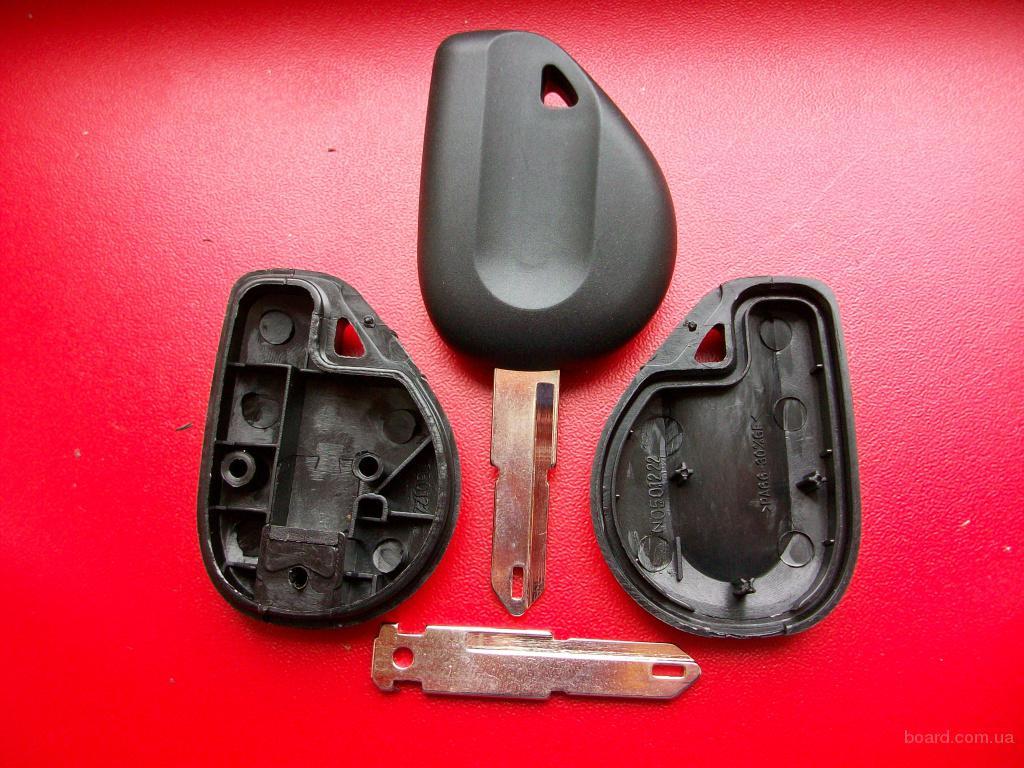 Что делать если сломался ключ Renault. Стоимость 100 грн.