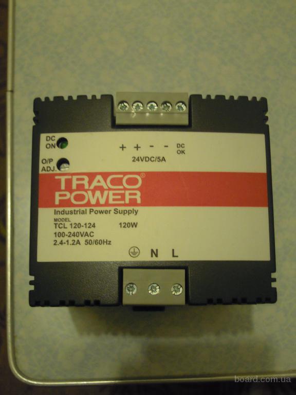 Блок питания 24 в 5 а  Traco  Power