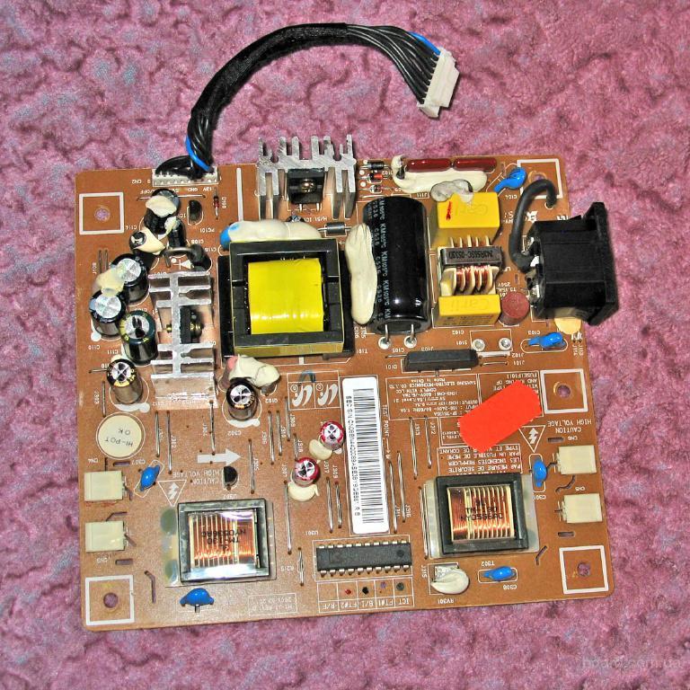 схема блока питания монитора