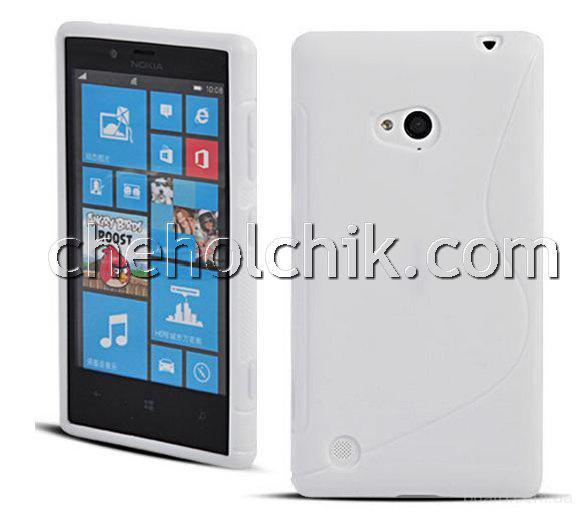 Белый чехол для Nokia Lumia 720 ( 120 грн. )