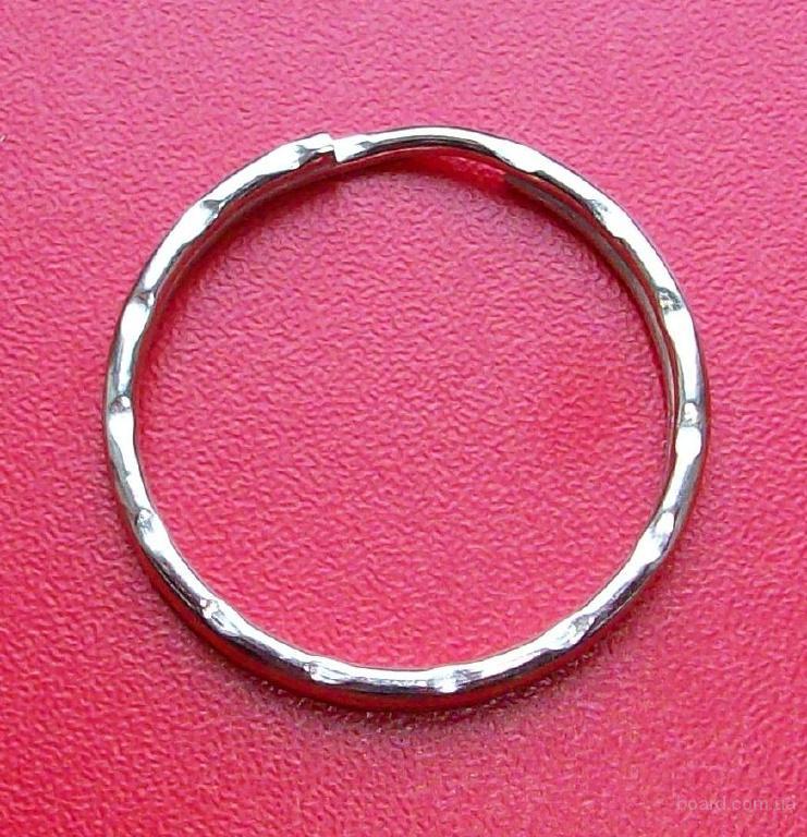 Кольца для ключей рифленые