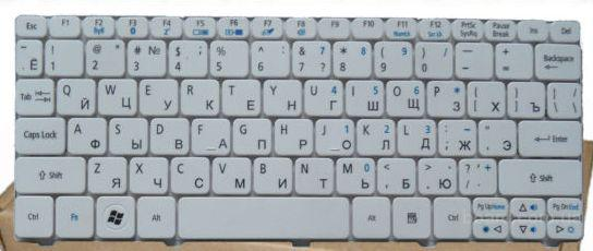 Клавиатура Acer Aspire One Series D270-268W New