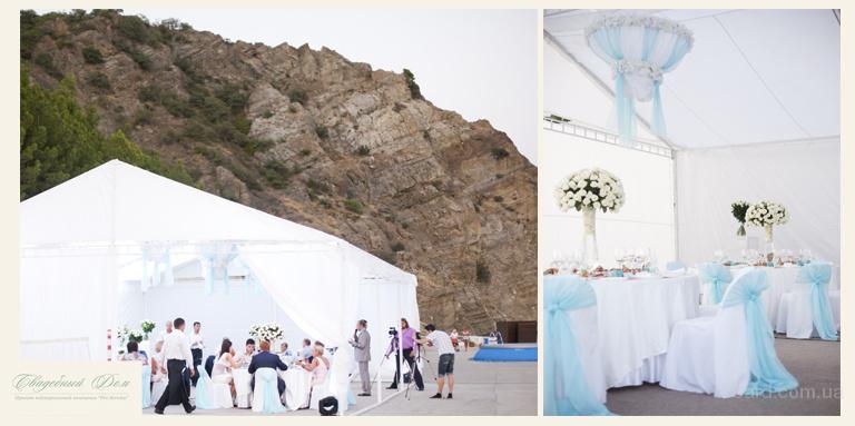Оформление свадеб в Севастополе.