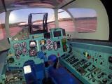Полет на авиасимуляторе в Москве