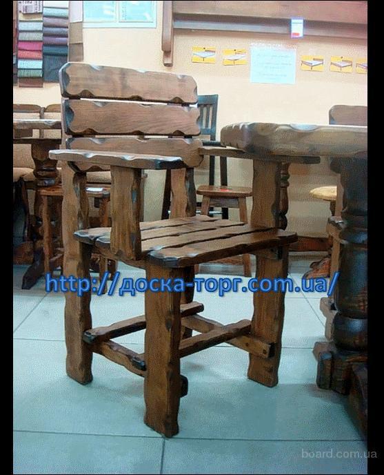 Столы, лавки из натурального дерева