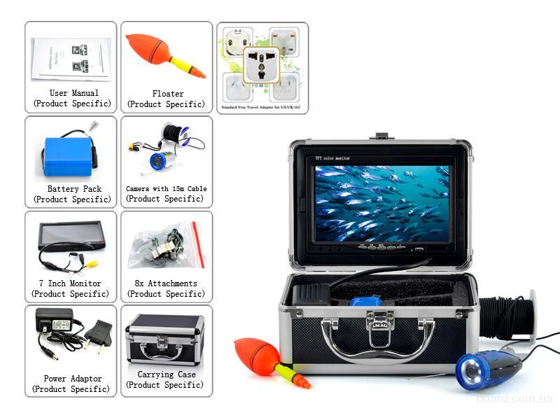 купить подводная видеокамера для рыбалки водоглаз 2 купить