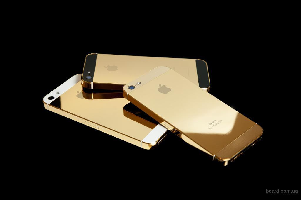 Позолота мобильных телефонов Nokia 8800 и iPhone4