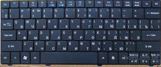 Клавиатура Acer Aspire One 722 721 751 Z