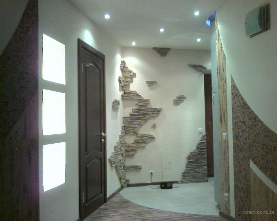 Декоративный ремонт квартир фото