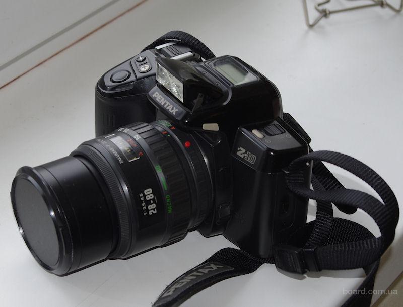 Pentax Z-10 (Pentax PZ-10) пленочный авто фокусный, зеркальный фотоаппарат