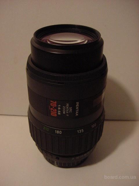 SMC Pentax-F 70-210mm 1:4-5.6. Автофокусный зум объектив