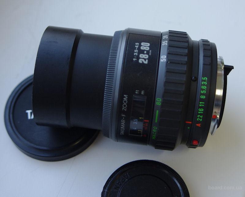 Pentax Takumar-F 28-80mm 1:3.5-4.5. Автофокусный