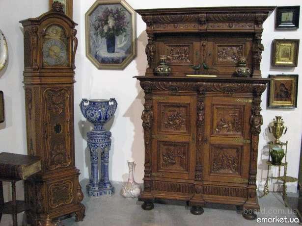 Реставрация антикварной и современной мебели, напольных, каминных, настенных часов, лестниц